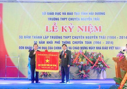 Lễ Kỷ niệm 30 năm thành lập trường - 50 năm Khối phổ thông chuyên Toán