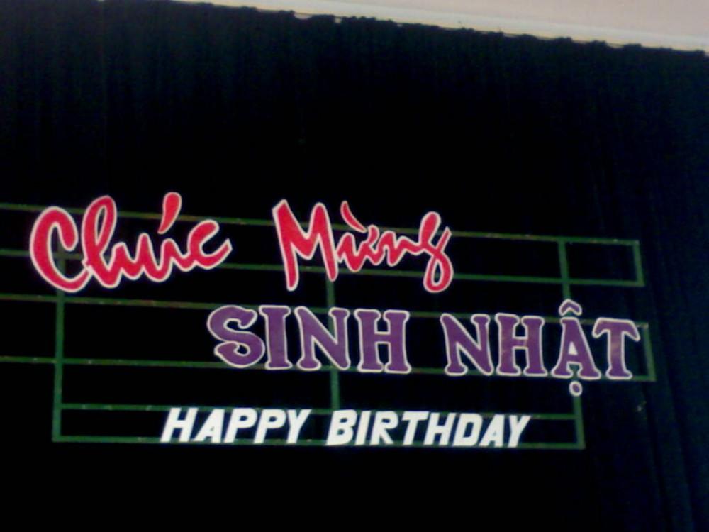 Chúc mừng sinh nhật tháng 9/2009